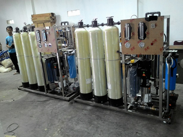 mesin boiler water treatment