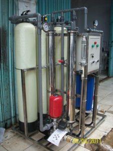 Kerja Filter mesin ro reverse osmosis